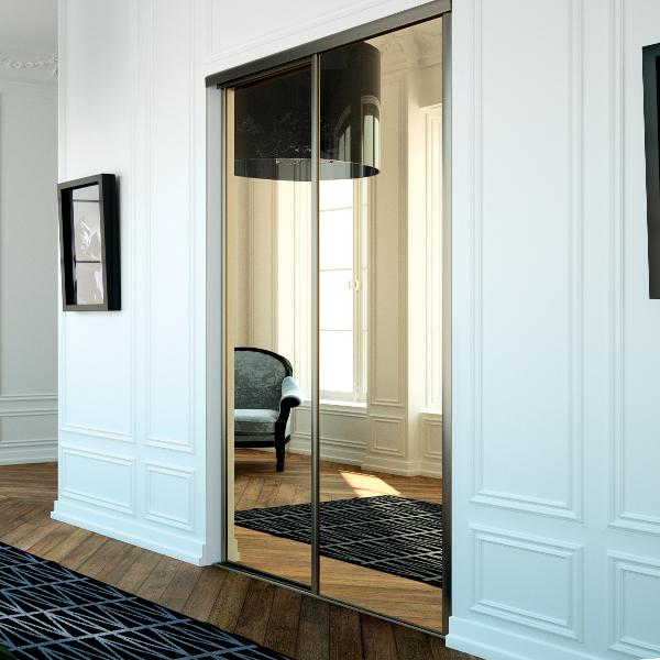 Jbr menuiserie vous propose ses services d 39 agencement de - Placard porte coulissante miroir ...