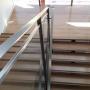 img Escalier poncé et vitrifié